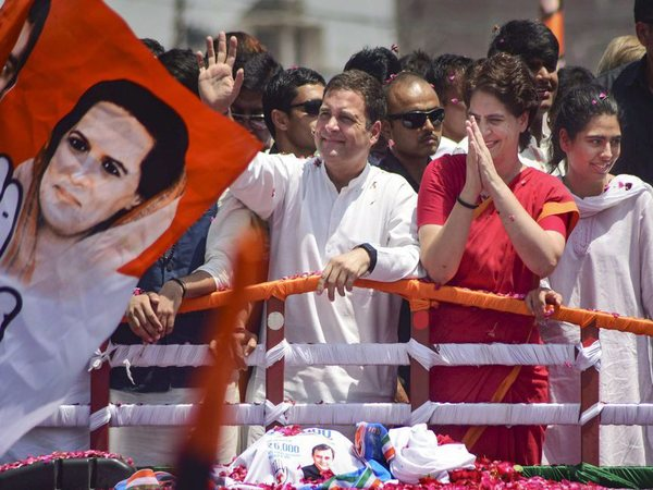 Congress President Rahul Gandhi and General Secretary PRiyanka Gandhi Vadra. PTI file photo