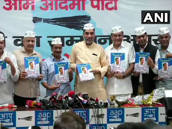 Kejriwal releases party manifesto, says 2019 about saving Indian democracy, Constitution