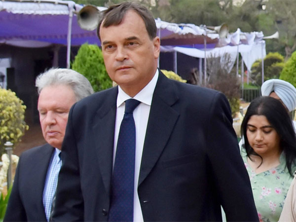 British High Commissioner to India Dominic Asquith