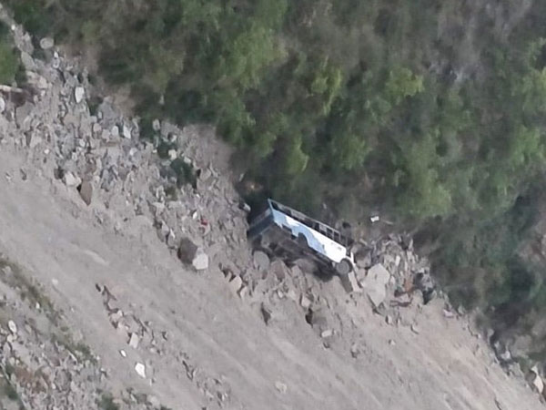 Himachal Pradesh: 12 dead as bus falls in 200-feet deep gorge in Chamba
