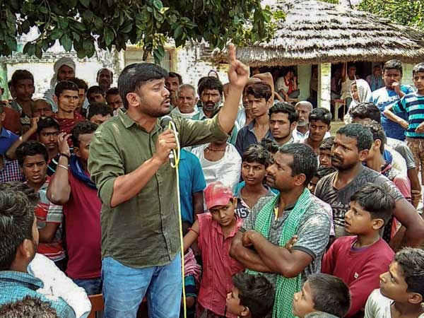 Kanhaiya Kumar files nomination as CPI candidate from Begusarai