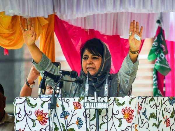 If India's nukes are not for Diwali, obviously Pak's are not for Eid, says Mehbooba