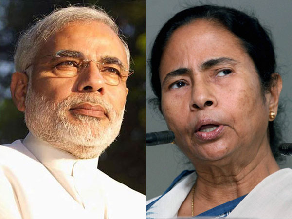 File photo of Narendra Modi and Mamata Banerjee