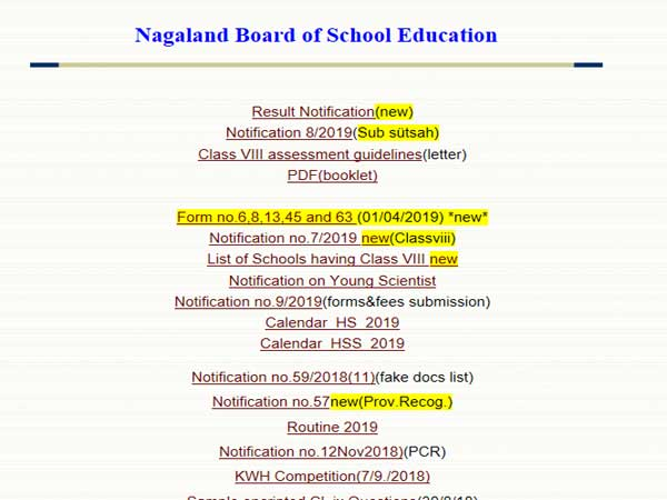 Nagaland Class 10, 12 result 2019 to be declared today, time awaited