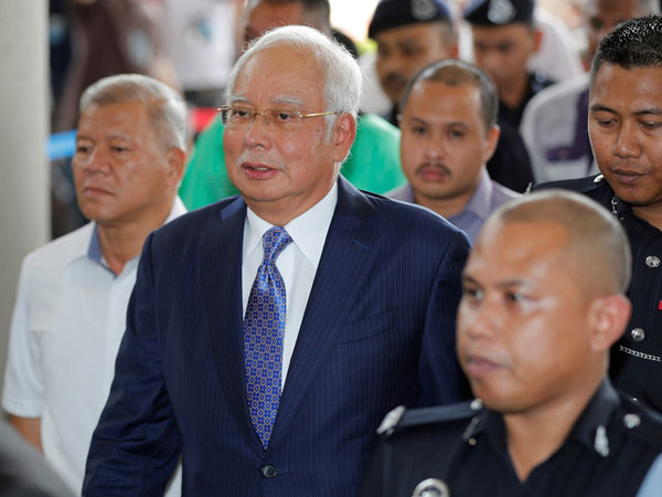 Malaysia ex-PM Najib Razak to go on trial for corruption