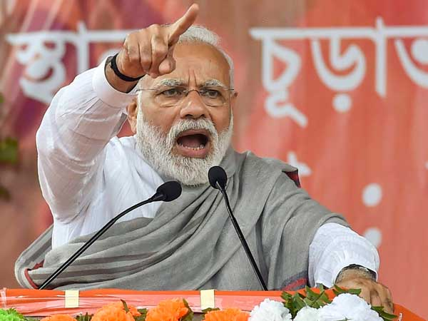 Modi to file nomination from Varanasi on April 26; Nitish, Uddhav to accompany PM