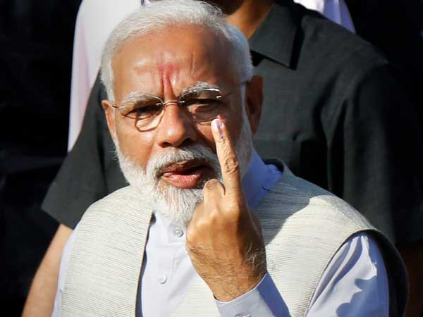 'Voter ID more powerful than IED,' says PM Modi after voting In Ahmedabad