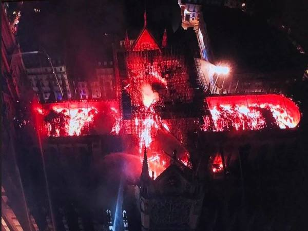 Paris' Notre Dame 'saved from total destruction,' after blaze ravages cathedral