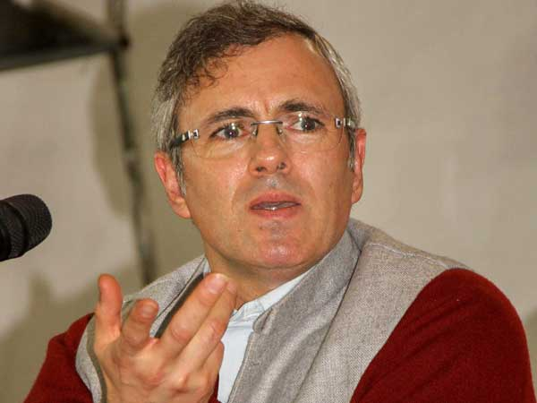 File photo of former Jammu and Kashmir chief minister Omar Abdullah