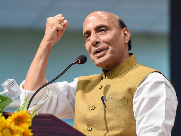 Union Home MinisterRajnath Singh. PTI file photo