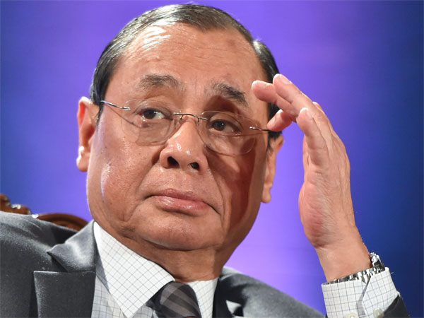 File photo of Ranjan Gogoi