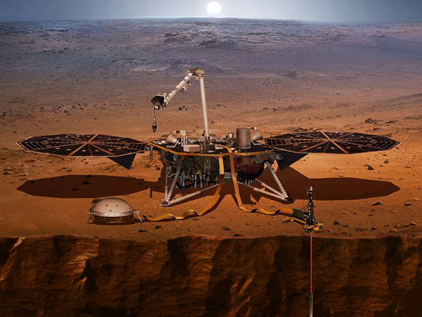 'Marsquake': NASA's InSight Lander records first tremor on the Red Planet