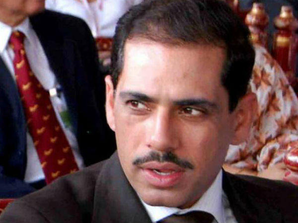 File photo of Robert Vadra