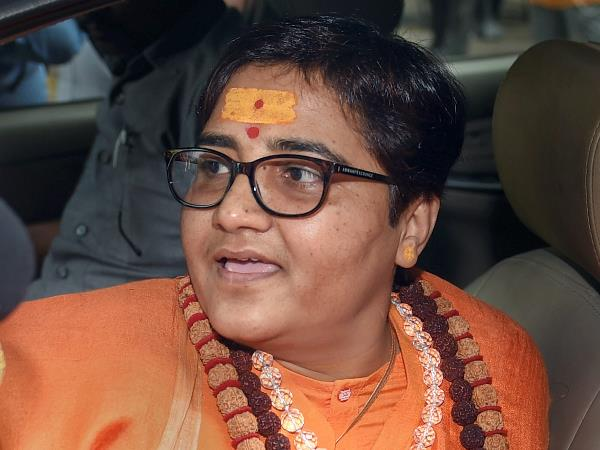 Sadhvi Pragya gets second EC notice for remarks on Ayodhya demolition