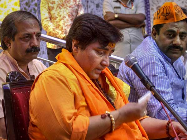 FIR registered against Sadhvi Pragya Singh Thakur for poll code violation
