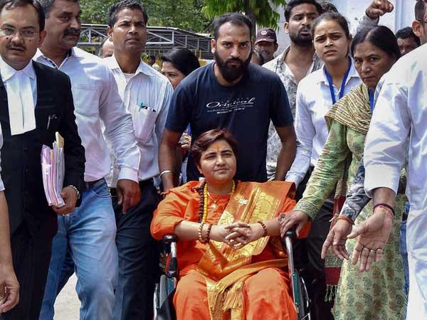 'Frivolous', 'politically motivated': Sadhvi Pragya on plea to bar her from contesting