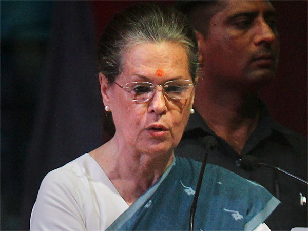 File photo of Sonia Gandhi