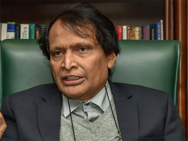 Civil Aviation Minister Suresh Prabhu