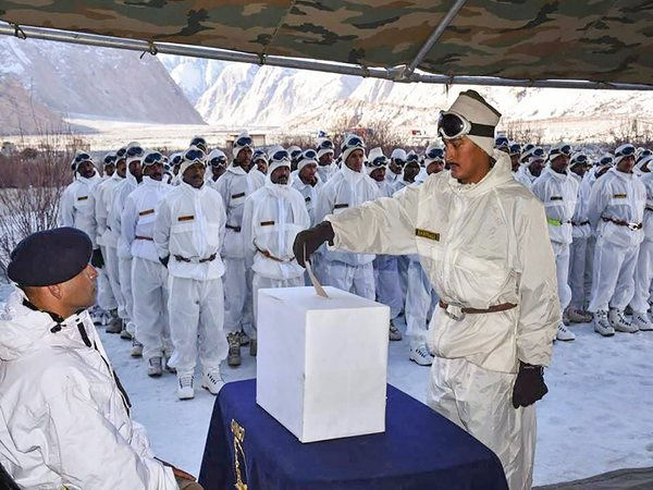 Army soldier in Siachen