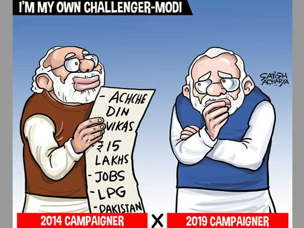 Narendra Modi is Modi's biggest challenger