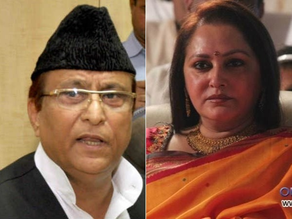 File photo of Azam Khan (left) and Jaya Prada(right)