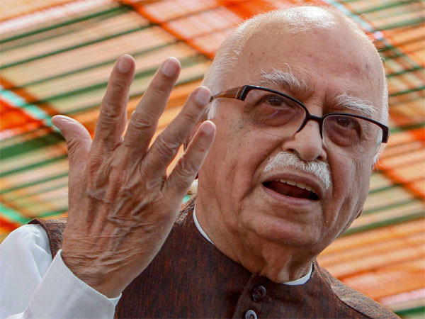 'Unwell' LK Advani casts vote in Ahmedabad, says,'he never missed voting since 1952'