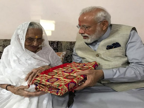 Here's why Modi's mother gifted him this precious shawl