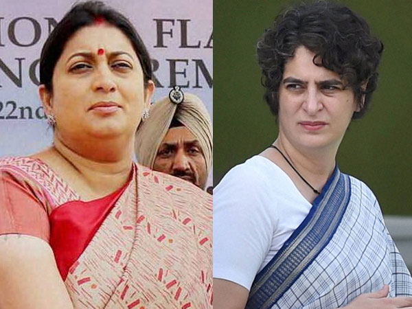"Priyanka Gandhi slams Smriti Irani for distributing shoes in Amethi; terms it ""insult"" to people"