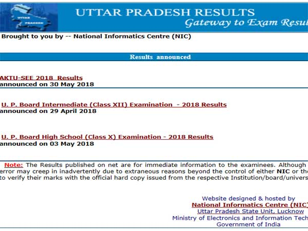 UP Board Result 2019 date to be declared today