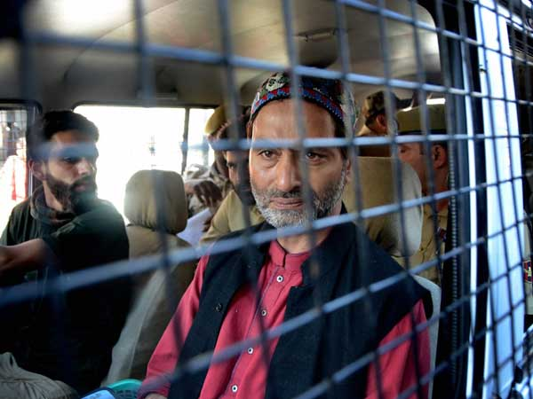 NIA custody of Yasin Malik ends, will be lodged in Tihar jail