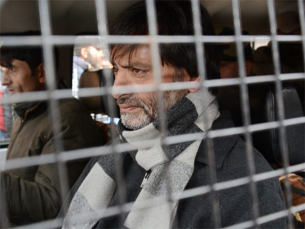 JKLF Chief and Senior Hurriyat Leader Yasin Malik