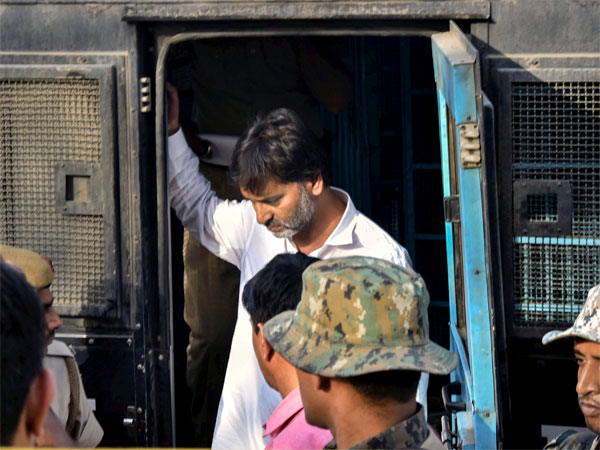 JKLF chief Yasin Malik in the NIA custody after he was produced in a court in New Delhi