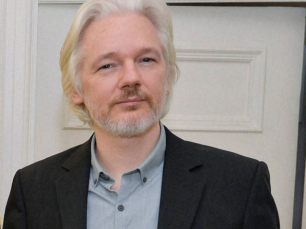 File photo of Julian Assange