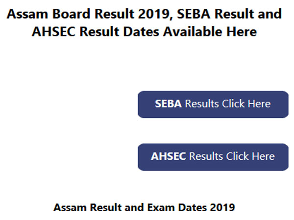 Assam Class 10 results 2019 to be declared next week, check date