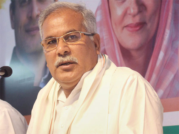 File photo of Bhupesh Baghel