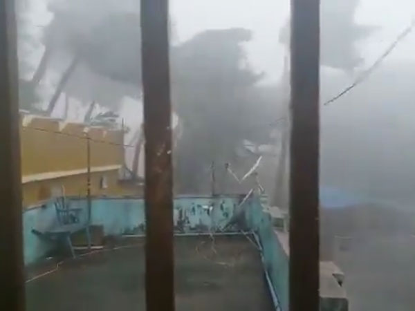 Watch: Cyclone Fani landfall; Soaring wind, plummeting rain wreak havoc