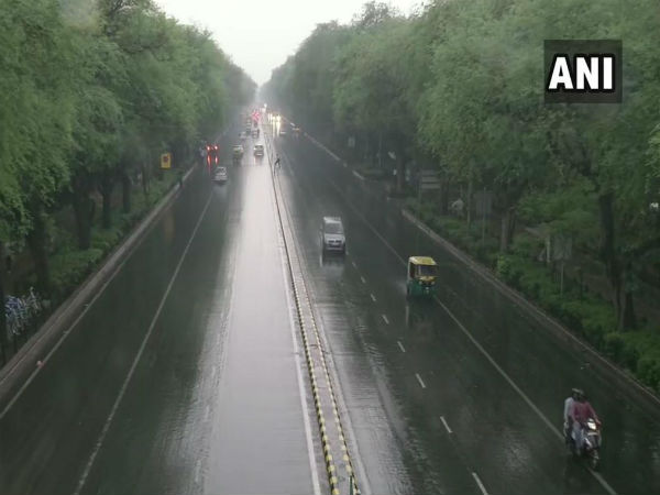 Light rain in parts of Delhi brings relief from scrotching heat