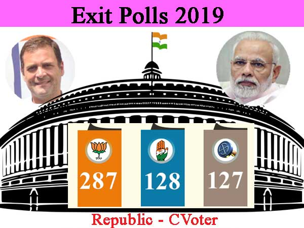 Modi likely to form government again: Republic TV- CVoter exit poll