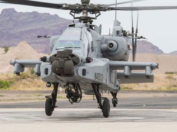 [US hands over Apache Guardian attack choppers to IAF]