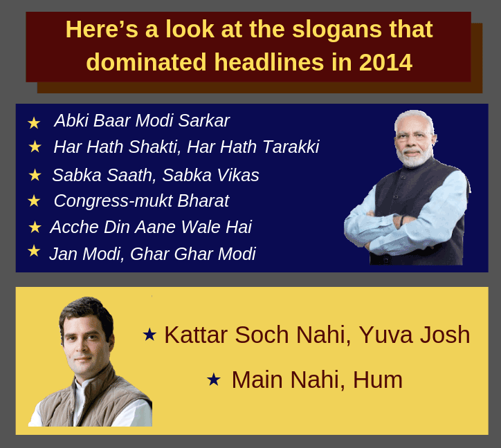 A look at popular campaign slogans of 2014