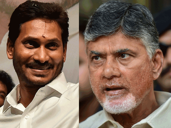 Jagan calls Chandrababu Naidu, invites for his swearing-in