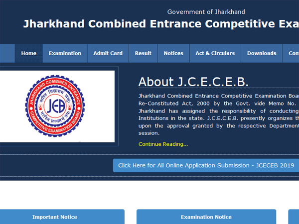 How to download JCECEB ITI 2019 admit card, check date