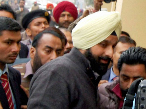 File photo of Bikram Singh Majithia