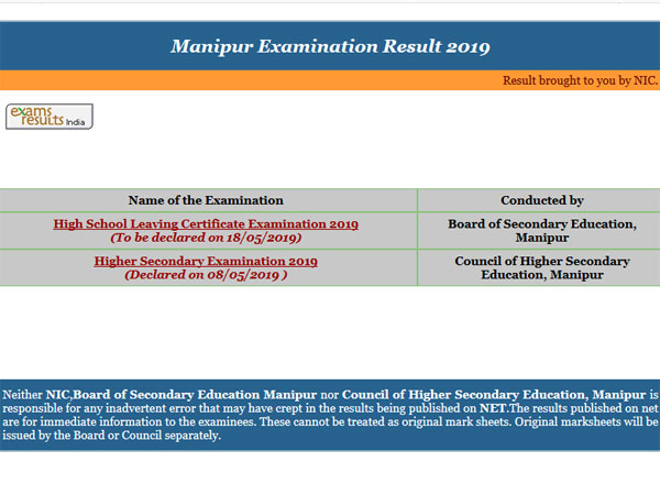 Manipur Class 10 result 2019 to be declared anytime now
