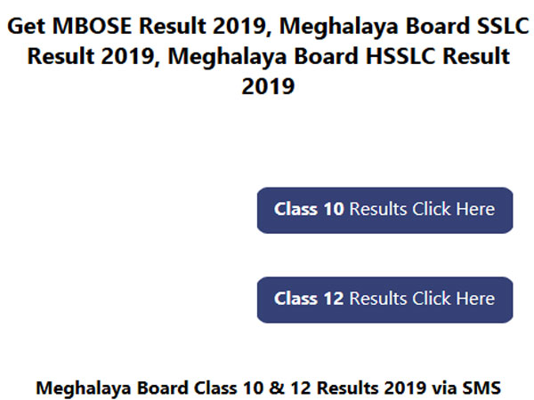 Meghalaya Class 12 result 2019 set to be declared