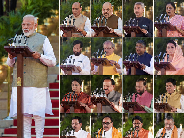Modi Sarkar 2.0: Full list of ministers and details