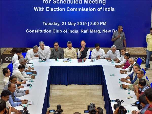 EC to meet today after Oppn demands verification of VVPAT slips
