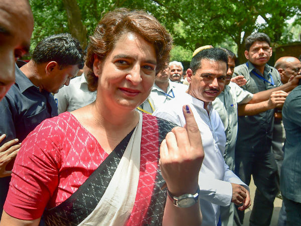 It is clear BJP govt is going: Priyanka Gandhi after casting vote