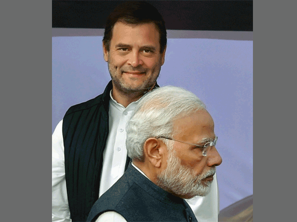 <strong>PM Modi scared of debating with me because he will lose face: Rahul Gandhi</strong>