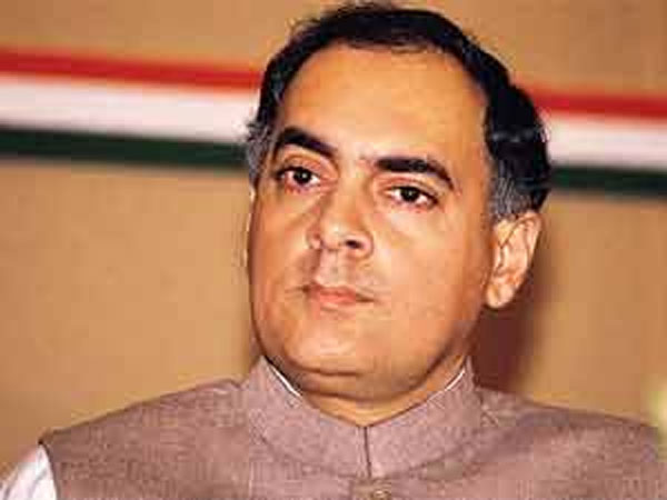 File photo of Rajiv Gandhi